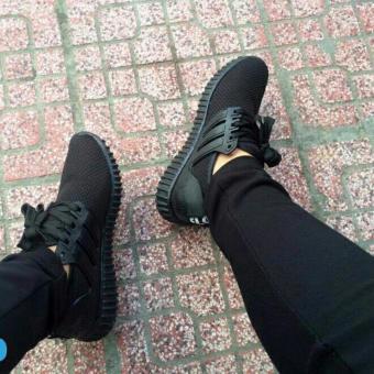 Giày sneaker nam nữ đế êm Fashion(đen)