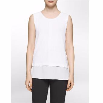 Áo kiểu nữ dệt kim cao cấp Calvin Klein - Hàng nhập Mỹ