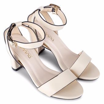 Sandal Gót Vuông