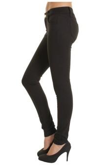 Quần dài nữ SoYoung WM SKINNY jeans 002 DEN (Đen)