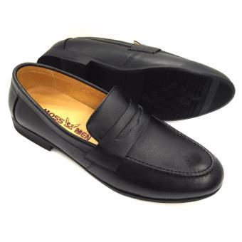 Giày tây da bò thật Hàn Quốc AD346D