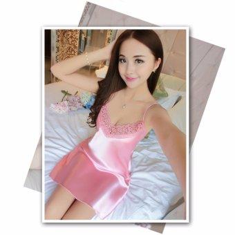 Đầm Ngủ Nữ Sodoha SWDN26969P (Hồng)
