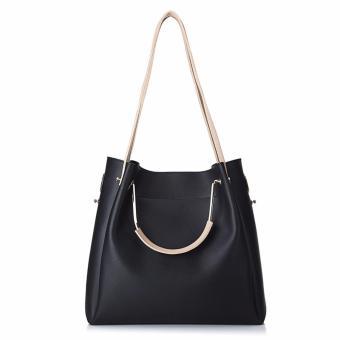 Túi xách nữ cao cấp phong cách châu Âu JLD085 (Đen) - 3417077