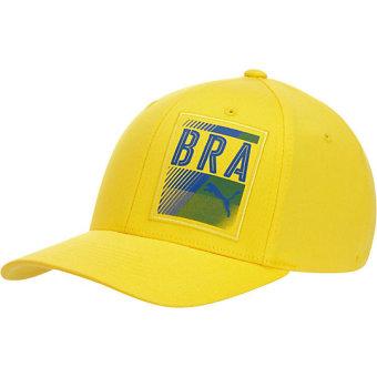 Nón chính hãng PUMA đội tuyển quốc gia Brazil (Vàng)