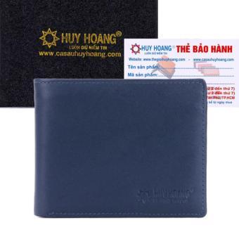 HL2137 - Bóp nam Huy Hoàng cao cấp màu xanh dương