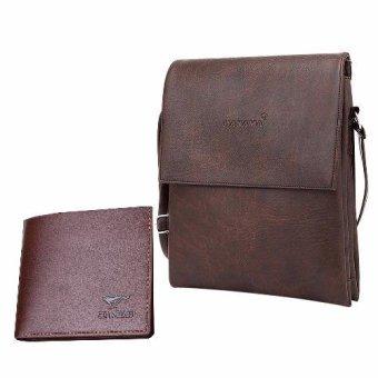 Túi đeo chéo + Tặng kèm ví Hanama S1 (Nâu cafe)
