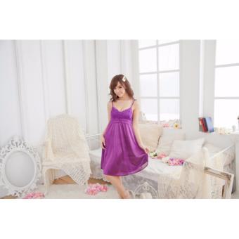 Đầm Ngủ Đẹp Giá Rẽ Hoa Nắng MS486 tím