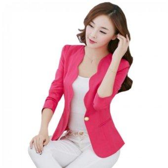 Áo vest nữ gợn sóng (Hồng)
