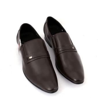 Giày tây công sở da thật chính hãng Da Giày Việt Nam VNLTK96A02 (Nâu).