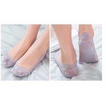 Vớ nữ dành cho giày búp bê cao cấp (Tím )
