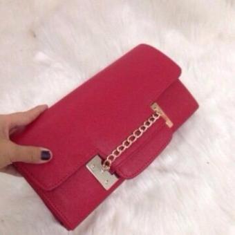 Túi clutch thời trang Hàn Quốc ( Đỏ)
