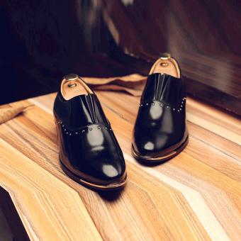 Giày công sở nam da bóng GCS09