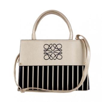 Túi đeo chéo nữ hoàng MS164 (Kem)