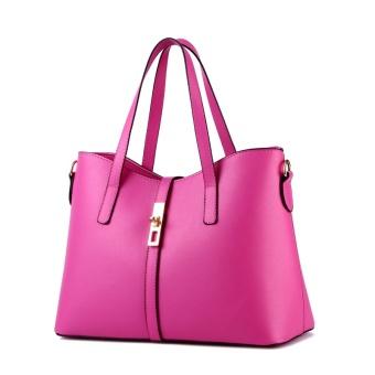 Túi xách nữ Queen cao cấp kèm dây đeo T6868-20-250-Hồng