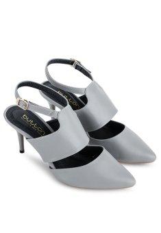 Mua Giày Cao Gót Mũi Nhọn Button On BS012 (Xám) giá tốt nhất