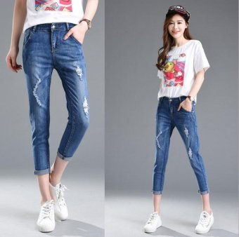 Fashion Ladies Jeans - (Intl) - intl