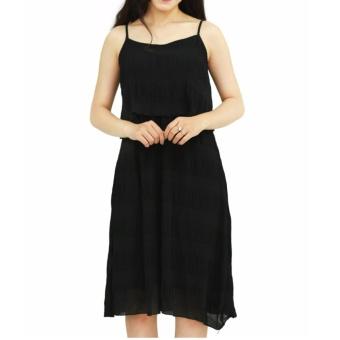Đầm maxi dập li