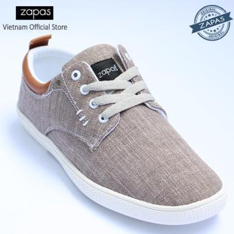 Giày Sneaker Zapas Classcial Màu Xám GZ012 - Hãng Phân Phối Chính Thức