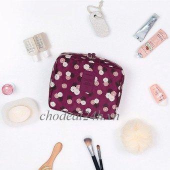 Túi đựng đồ cá nhân mỹ phẩm dành cho phụ nữ CD06 - chodeal24h.vn (tím nho)