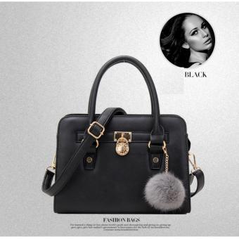 Túi xách nữ da lộn thời trang, kiểu dáng thanh lịch(màu đen)
