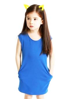 Váy xinh cho bé gái Family Shop TEH22 (Xanh)