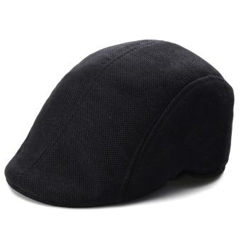 Mens Womens Duckbill Ivy Golf Cap Driving Flat Cabbie Newsboy Gatsby Beret Hat - Intl