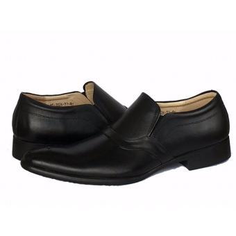 Giày tây da bò màu đen ATTOM | AT2026T.1