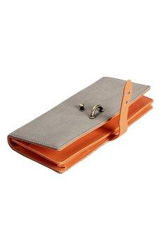 HKS Fashion Elegant Card Cash Holder Lady Purse Woman Wallet Bag Billfold - intl