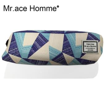 Túi đựng bút Mr.ace Homme L003 / Xanh phối tím