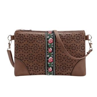 Women Handbags Shoulder Messenge Bag Flowers Vintage Hippie Embroidered Bag CO - intl