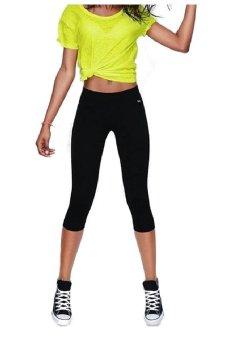 Quần dài skinny legging nữ SoYoung WM SHORT PANTS 004 B (Đen)