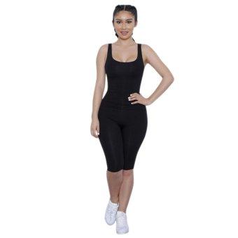 Women Slim Backless Jumpsuit (Black) - Intl - intl