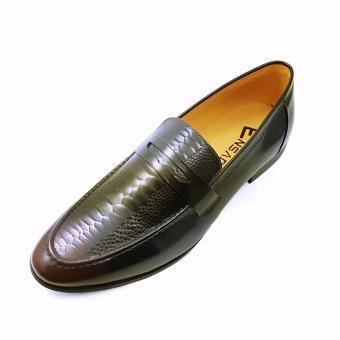 Giày Lười Nam Ensado HQ06 (Đen)