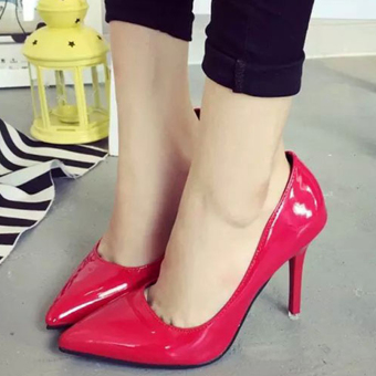 Giày nữ cao gót cực duyên dáng - 153 (Đỏ)