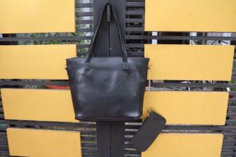 Túi tote nữ phong cách Châu Âu (Đen)