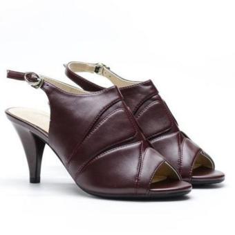 Sandal cao gót Evashoes Eva68626 Mận