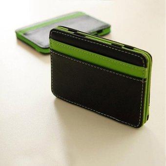 Men's Money Clip Magic Wallet (Green)