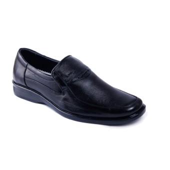 Giày tây công sở da thật chính hãng Da Giày Việt Nam VNLF2A28 (Đen).