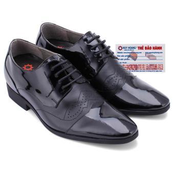 HL7180 - Giày tăng chiều cao Huy Hoàng màu đen