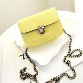 Fashion Women Leather Satchel Shoulder Crossbody Satchel Messenger Bag - intl