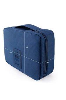 Túi du lịch đựng đồ cá nhân dành cho Nam-.vn (Xanh đậm)