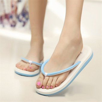 2016 Fashion Womens Summer Casual Flip Flops Beach Slippers Sandals Summer Shoes - Intl