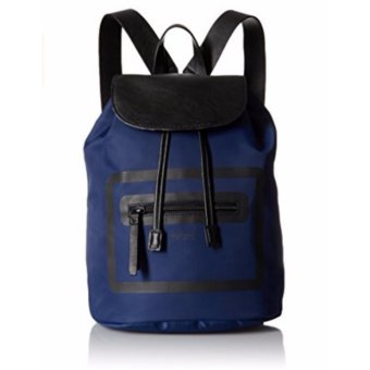 Ba Lô Nữ Xanh và Đen Kenneth Cole Reaction Outlined Backpack