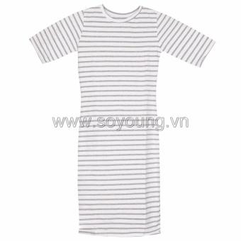 Đầm Ngắn Tay Cổ Tròn SoYoung DRESS 0058 A