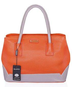 Túi xách nữ da thật Blanda 046 (Cam)