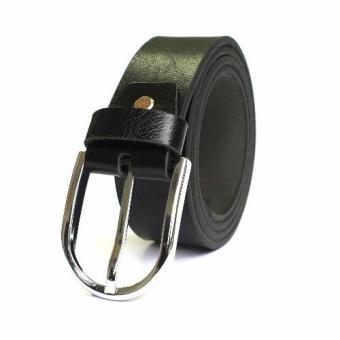 Thắt lưng nam da bò ZACOS dây kim DKD5 (Đen)