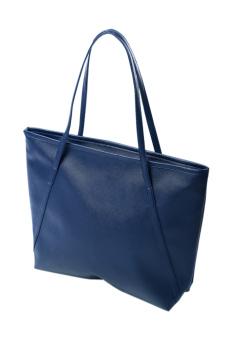Fashion Tote Bag Ladies Fashine Handbag Deep Blue - Intl - intl