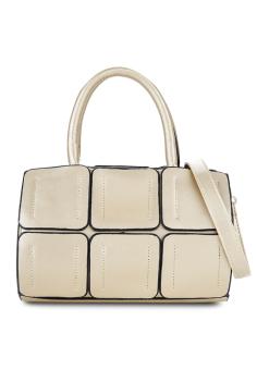 Túi đeo chéo hình vuông Vinadeal A13 (Trắng Kem)