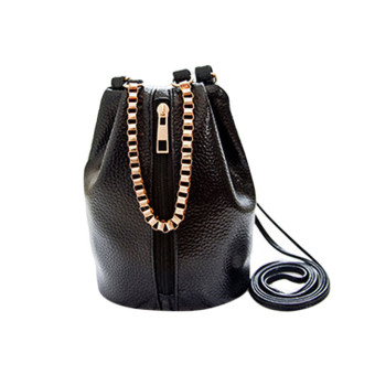 Women Handbag Shoulder Bags Tote Purse Satchel Women Messenger Bag Black - Intl