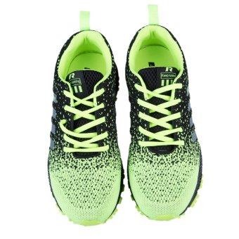 Unisex Shoes Causal Fashion Sports Footwear Women Men Breathable Light Soft Flats Lovers(Green) - intl